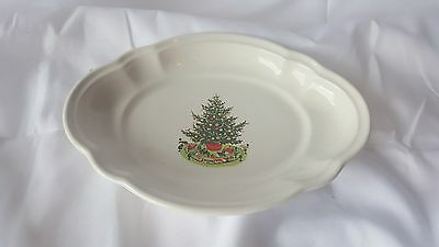Pfaltzgraff CHRISTMAS HERITAGE oval Relish Dishes   x2