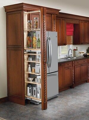 Rev-A-Shelf Stackable, Pantry-Filler Pullout Organizer with Adjustable Shelves