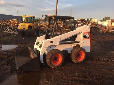 2003 Bobcat 863 Skid Steer Loader! Ready to Work! We Ship!