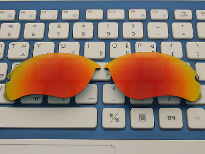 65d8e4d2c1 Replacement Fire Red Polarized Lenses for Speed Jacket Sunglasses OO9228