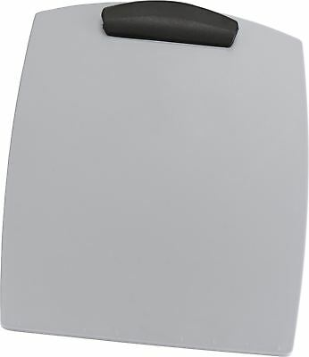 Storex Hard Poly Clipboard, Legal, Silver (Case of 12)