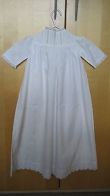 Vintage 1940's  Christening Robe for a new baby