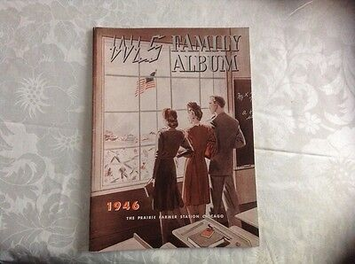 Vintage 1946 WLS Family Album/Country Music/Radio Station Book