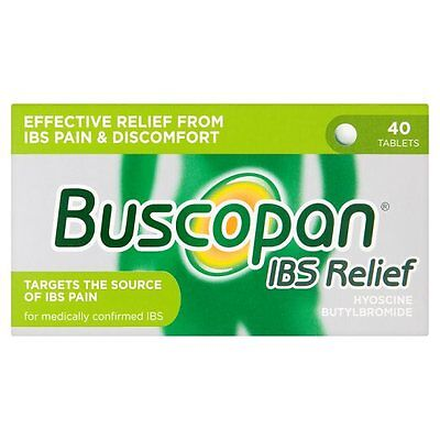 Buscopan IBS Relief 40 Tablets | Relief From Abdominal Cramps, Pain & Discomfort