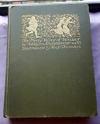 1910 The Merry Wives of Windsor W.Shakespeare  ill by Hugh Thomson