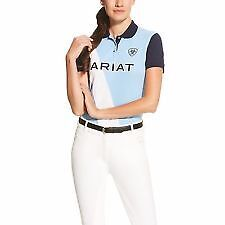 Ariat Womens Taryn Polo -  Size S - Skyway Colour