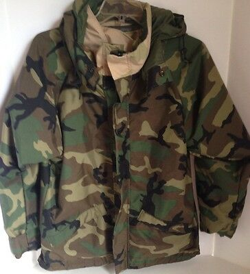 Camouflage Military  Water Proof Rain Jacket Reversible