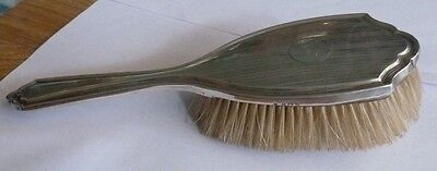 Sterling Silver 925 Fully Hallmarked Hair Brush