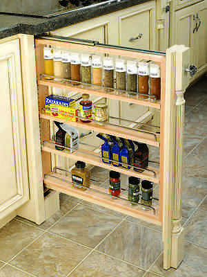 Rev A Shelf Kitchen Base Cabinet Storage Pullout, Specify Width And Soft