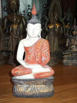 OLD Beautifu lBurma Buddha Teak Wood