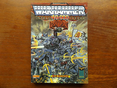 Warhammer 40.000 Rogue Trader 1990 By Rick Priestly Citidel Miniatures Book