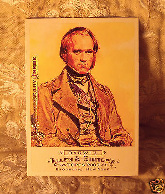 Topps CHARLES DARWIN 2015 Allen & Ginter's 10th Anniversary Buyback of card 116