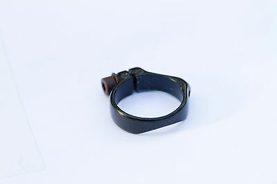 "kona retro cable guide ""dog collar"" steel frame 28.6 Black"