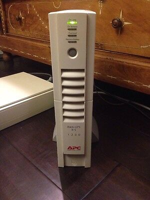 APC Back-UPS RS 1200 Battery Backup Uninterruptible Power Supply BR1200 +Battery