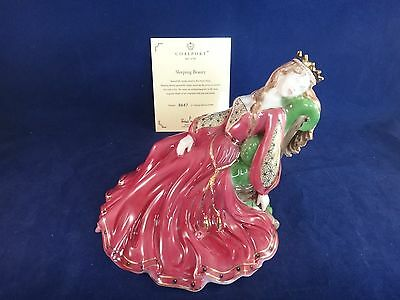 Coalport SLEEPING BEAUTY Figurine ~LIMITED EDITION ~ COA