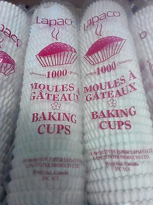 6000 White Baking Cups Muffin Liners Medium Wholesale