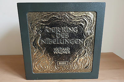 Decca *solti* Wagner The Ring *presentation Box - 22 Lps* Beautiful Copy Nm