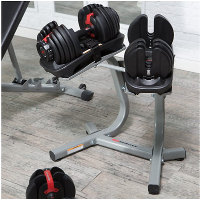 Bowflex SelectTech 552 Two DUMBELLS, Unique Dial System 5 - 52.5 Lb WEIGHTS Pair