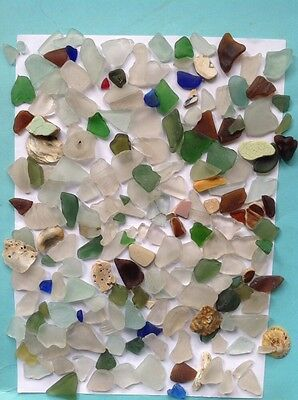 Sea Glass,sea Find, Beach,arts Crafts,mosaic,beach Decor,red Sea Glass
