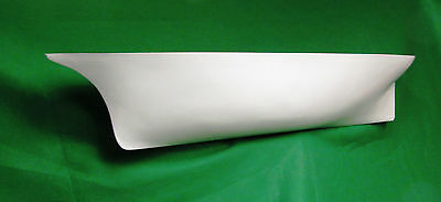 Fibreglass model boat hull  -  Schooner and sail plan 40 inches long