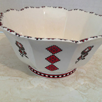 Vintage Ukrainian Art Ceramic Bowl