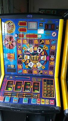 Bullseye fruit machine accepts new £1 coin (permit number 005955)