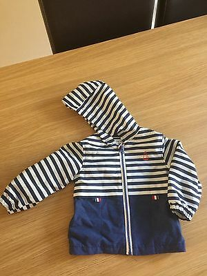 Next Baby Boys Clothes Rain Jacket 9-12 months