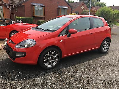 FIAT PUNTO EVO GP 1.4 2010(60) RED 3 door