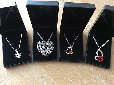 Job Lot Of 4  NEW Items Of Fashion Jewellery Gift Boxed Necklaces New 270617-05