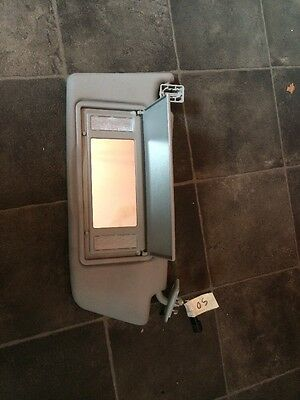 Vauxhall Astra Sun Visor Mk5 H Light Up Gray O/s Offside Off Side Drivers