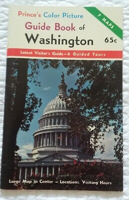 Prince's Guide Book of Washinton 1960's