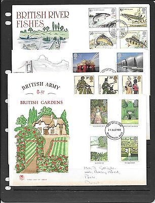 Gb Decimal Fdcs 1983  Mixed Condition * See Details C481