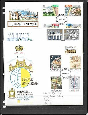 Gb Decimal Fdcs 1984  Mixed Condition * See Details C483