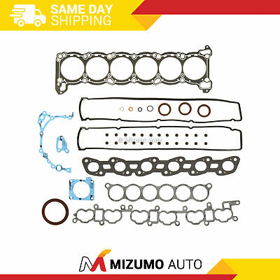 Full Gasket Set Fit JDM Nissan Skyline R32 R33 R34 RB25DE RB25DET 2.5L Turbo