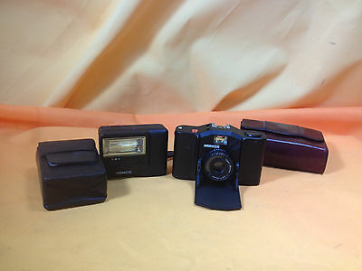 Macchina Fotografica Minox 35 GL in custodia + Flash originale