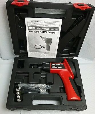 Cen-Tech 62359 Digital Inspection Camera & Storage Carry Case