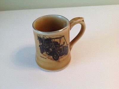 Collectable Wade Veteran Cars 1904 Sunbeam Porcelain Tankard Miniature