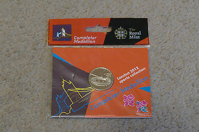 New and Sealed London 2012 Olympic 50p Completer Medallion