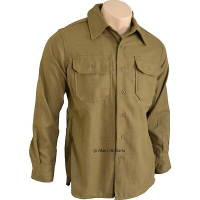 CHEMISE MOUTARDE US Taille XXL WW2 MILITARIA JEEP