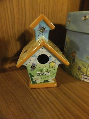 Royal doulton home tweet home honeycomb cottage New never displayed collectable