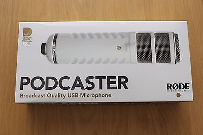 RØDE Podcaster Dynamic Large-Diaphragm Microphone with USB Connection