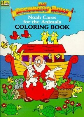 Noah Cares for the Animals Coloring Book