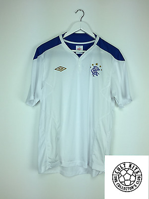 RANGERS 00s Training Shirt (L) Soccer Jersey SPL Umbro Football