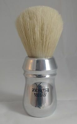 Big Scrubby Zenith Pro Aluminum Handle XL Boar Shave Brush. 28x50mm knot. B14