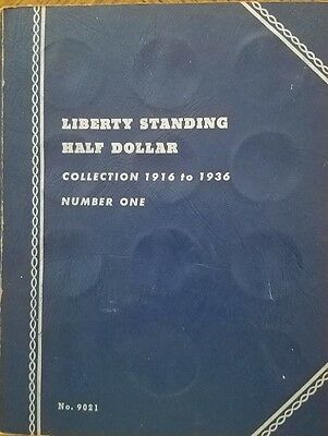 Liberty Standing Half Dollar Collection - 1916 to 1936 - 33 of 35   WL#1