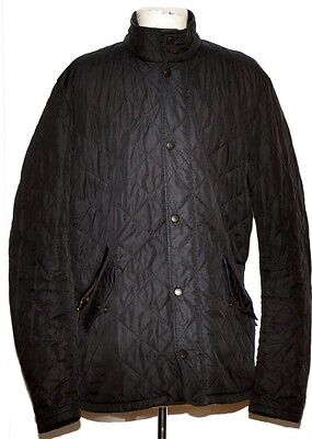 Men's Barbour Chelsea Sportsquilt Size Small Black