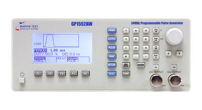 2-Ch 50 MHz Programmable Pulse Generator Wavetek 859 or HP8160A Replacement