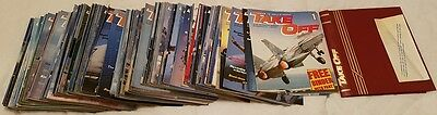COMPLETE set of Take Off Magazines Issue 1-132 plus 1 binder