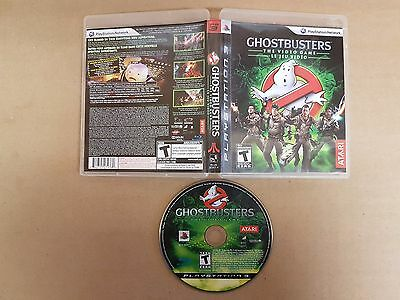 Ghostbusters: The Video Game (Sony PlayStation 3, 2009) Very Good Condition