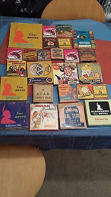 COLLECTION of 26 VINTAGE CHARACTER FILMS 8MM and 16MM CASTLE FILMS/ OTHERS